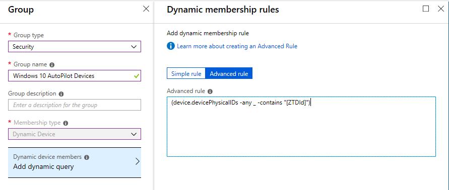 Setup Windows Autopilot with Hybrid Azure AD join – Part 1 – Azure